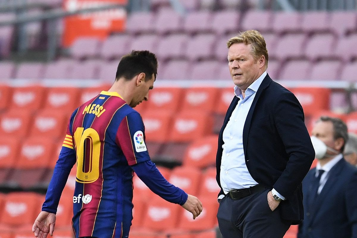 Shifting expectations put Koeman's Barca future in doubt