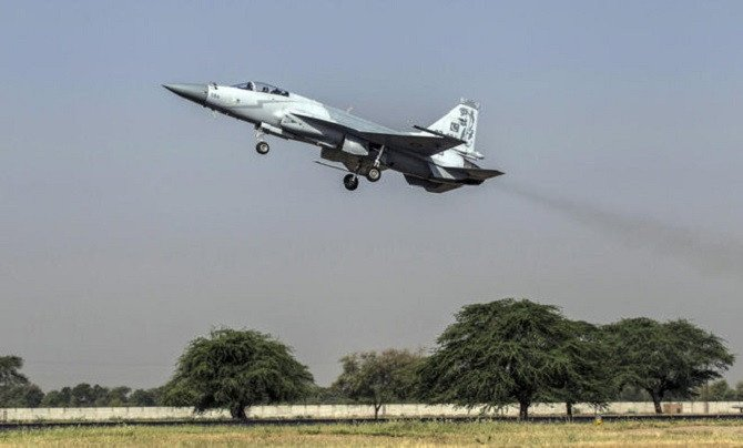 Pakistan hands over three JF-17 Thunder aircraft to Nigeria