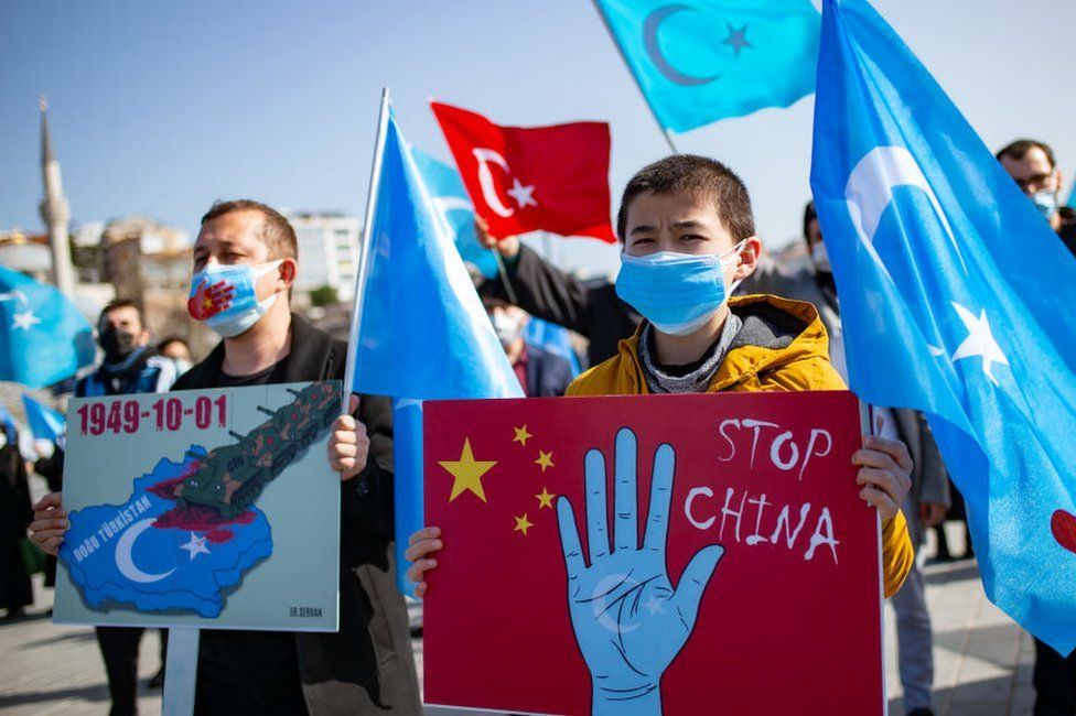 China has created a dystopian hellscape in Xinjiang, Amnesty report says