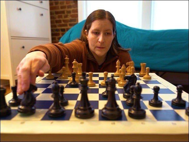 شطرنج کی بینائی سے محروم چیمپئن