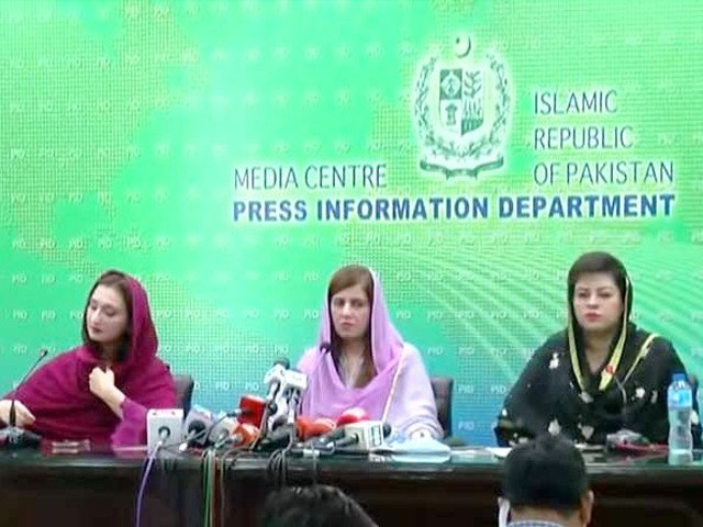 PTI women lawmakers throw down gauntlet to 'liberal brigade' over PM's remarks