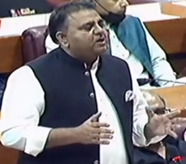 Don't lecture us on freedom of expression, Fawad tells opposition