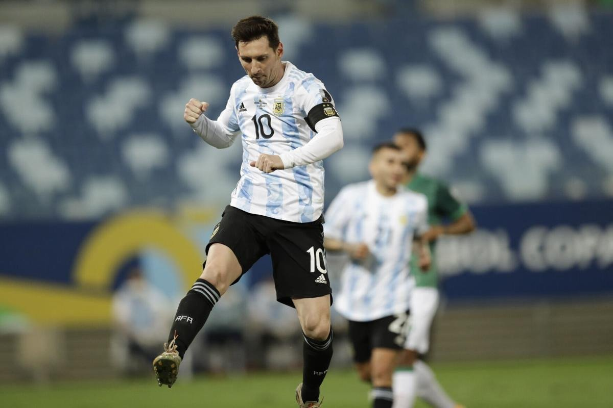 Messi moves past Mascherano to become Argentina's most capped player