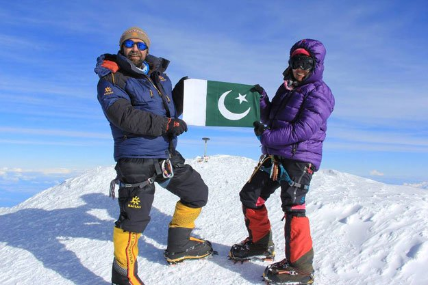 Mountaineer Samina Baig's K2 expedition enters eighth day