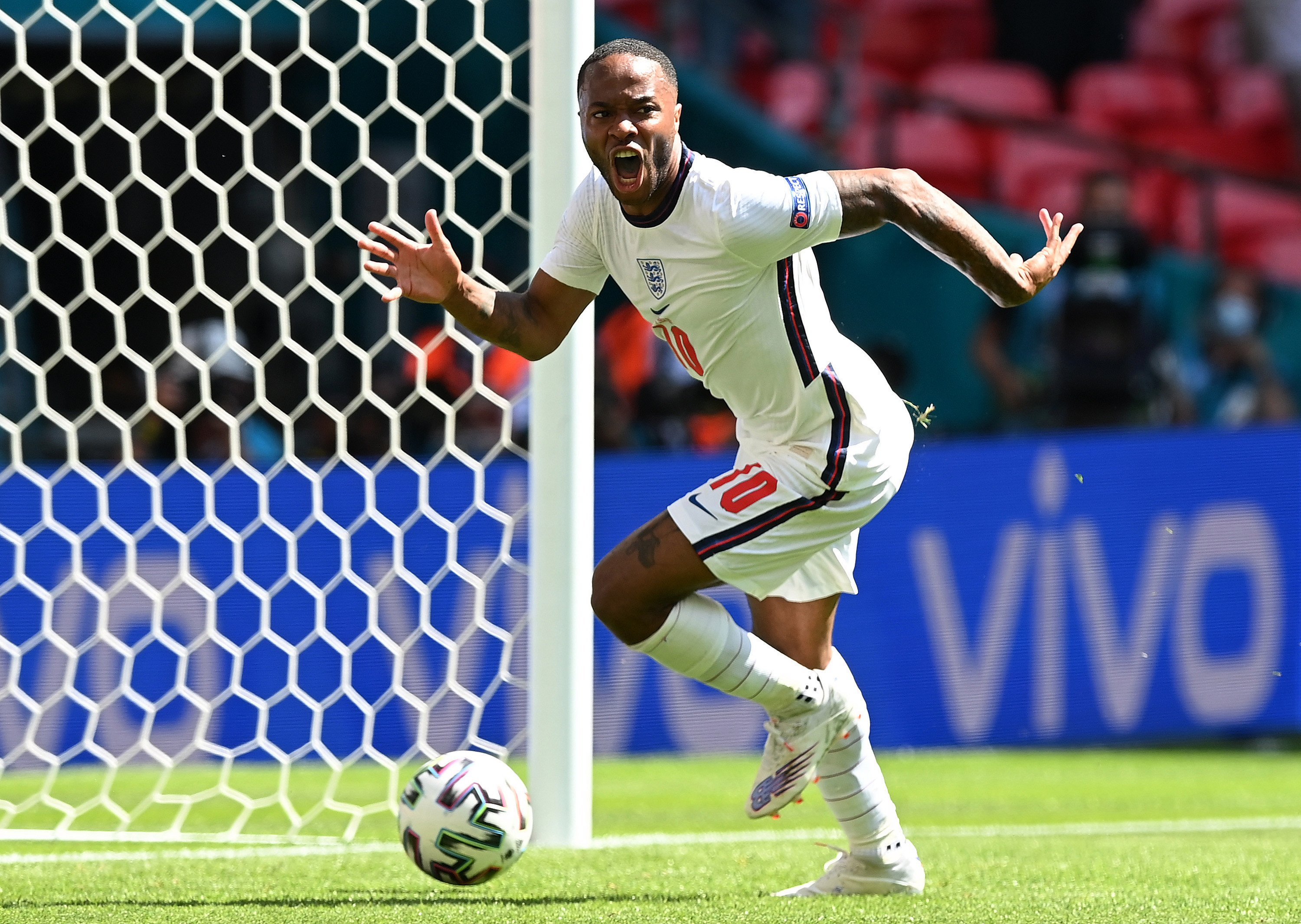 Fighter' Sterling slaying ghosts of England past at Euro 2020