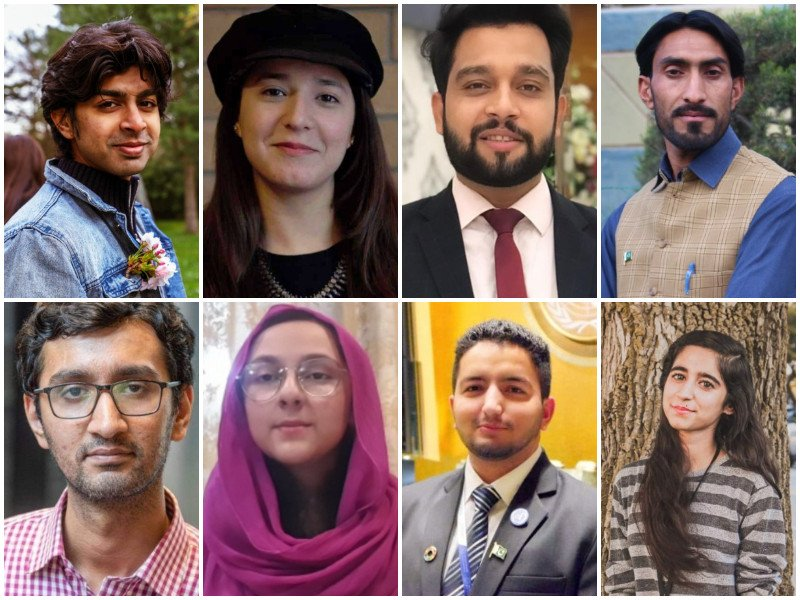 Eight Pakistanis win prestigious Diana Award