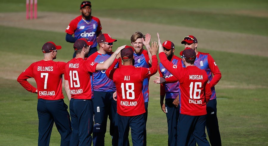 Three England players test positive for Covid-19 ahead of Pakistan series