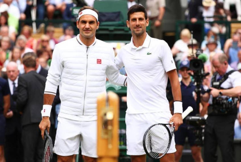 Djokovic, Federer in Wimbledon landmarks
