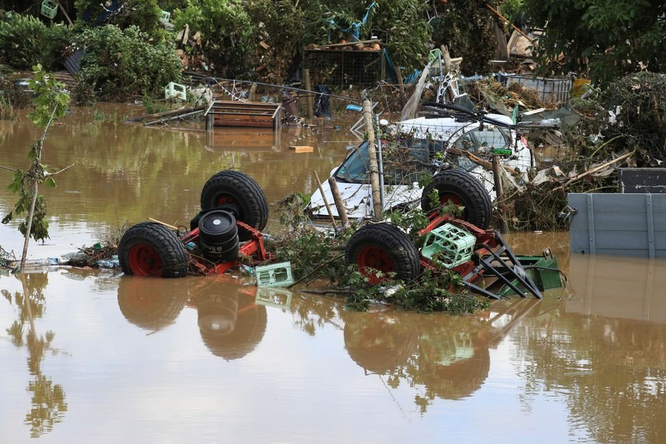 Further flooding feared in western Europe with death toll over 100