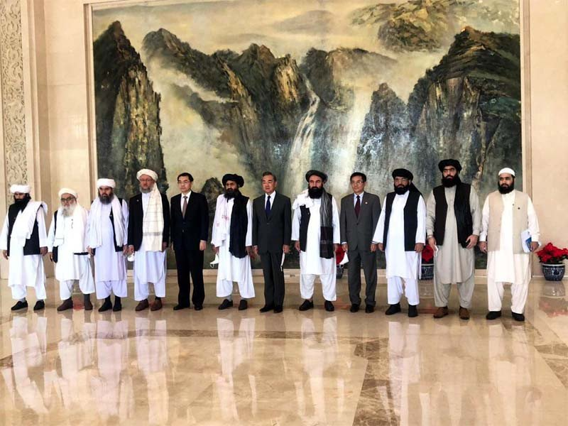 China expects Taliban to play 'important' role for peace in Afghanistan