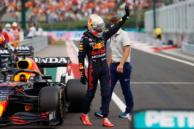 Verstappen says he was 'taken out' by a Mercedes again