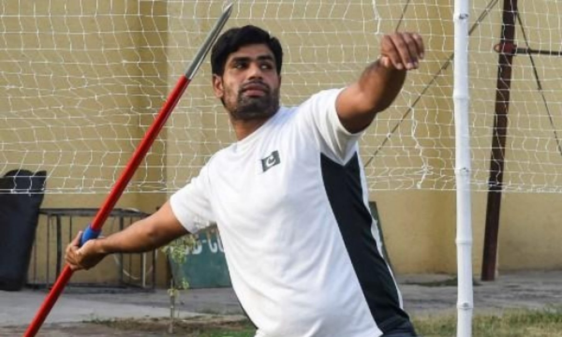 Pakistan's last hope in Olympics, javelin thrower Arshad only has medal on his mind