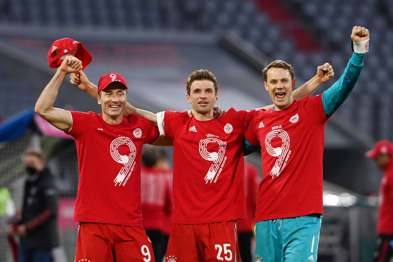 Who can stop Bayern winning a 10th straight Bundesliga title?