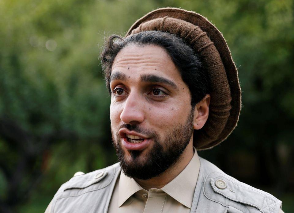 Son of slain Afghan hero Massoud vows resistance, seeks support