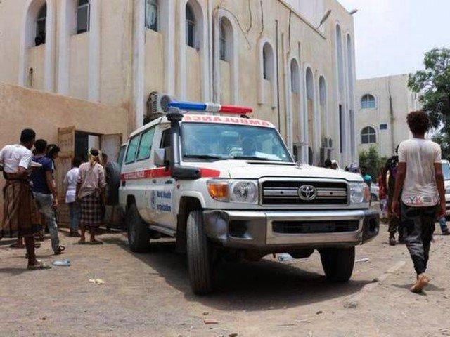 At least 30 killed in Houthi strikes on Yemen base, spokesman says