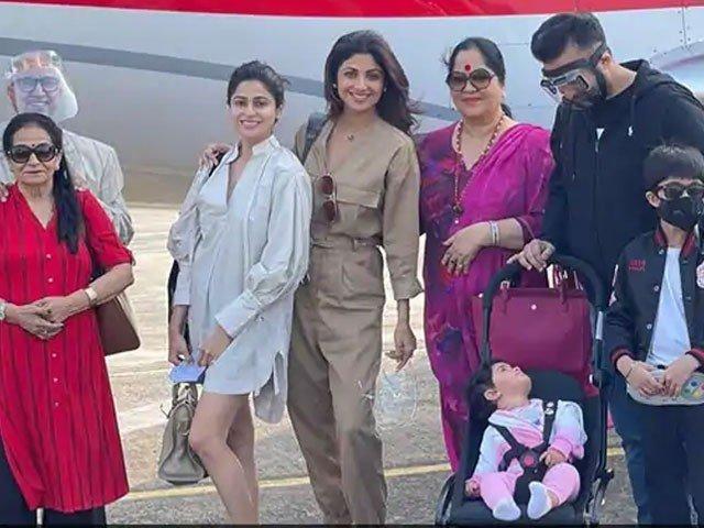 اداکارہ شلپا شیٹھی کا گھرانہ بھی کورونا میں مبتلا