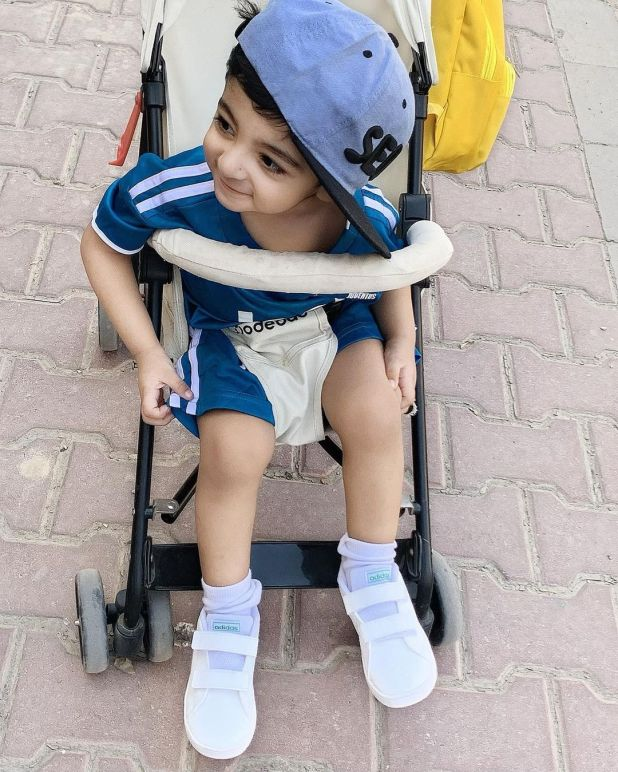 Actress Fatima Sohail with her Son Latest Adorable Pictures