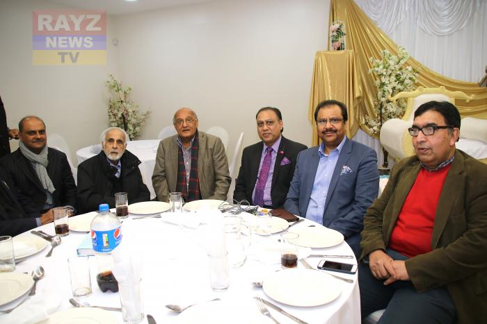 Amjad Islam Amjad Attended and Event in Manchester Organised by Indus Health Network