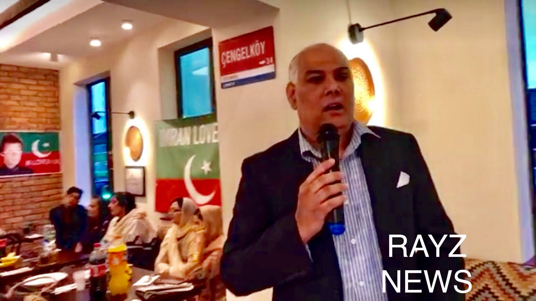 Asif Rasheed Butt chairman of IMRAN LOVERS