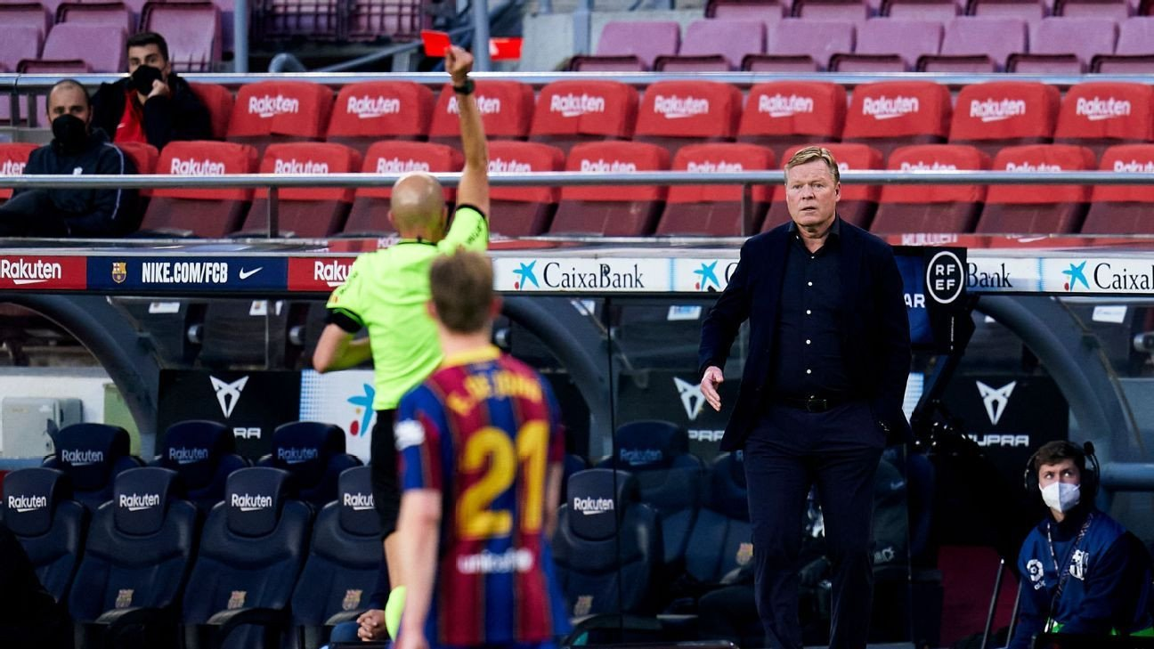 Barcas Koeman bemoans lack of cutting edge in shock Granada loss