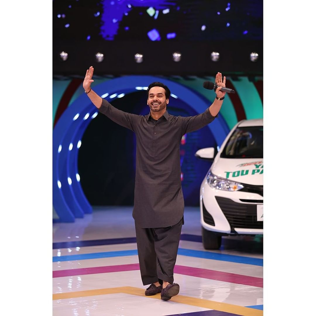 Celebrities Pictures From The Set Of Jeeto Pakistan