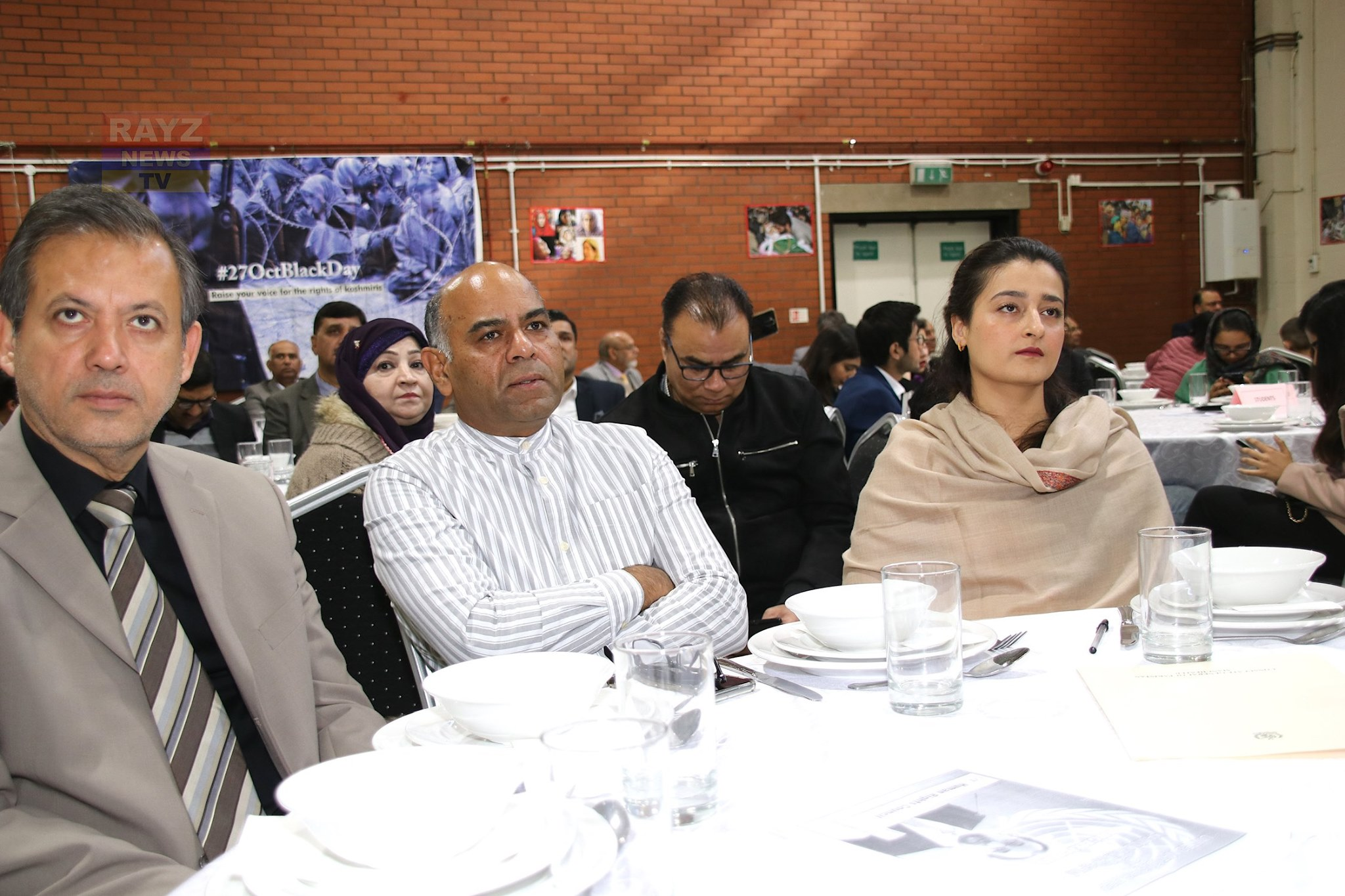 Conulate General of Pakistan Manchester organised an event to protest the 27th Oct Blackday