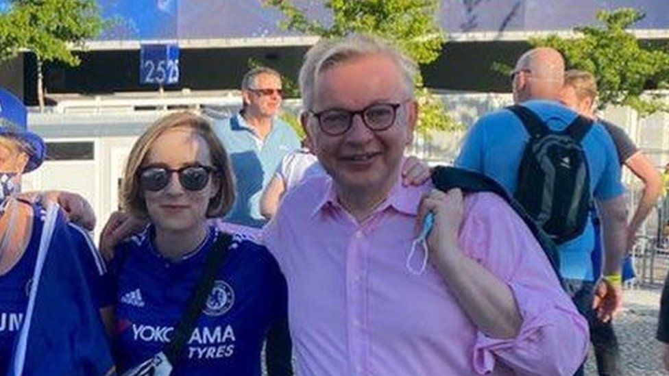 Covid: Michael Gove alerted by NHS Test and Trace after Champions League trip