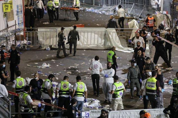 Crush at Israeli religious festival kills 44