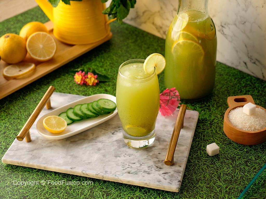 Cucumber Lemonade Cooler