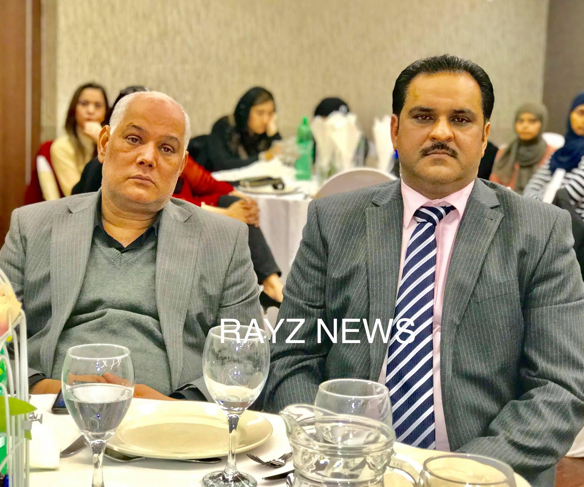 Dinner meeting with Pakistani Senators General Retired Abdul Qayyum Khan