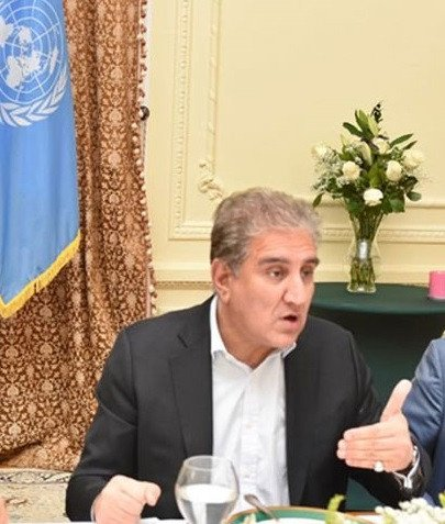 FM Qureshi calls for collective efforts to end human tragedy in Palestine