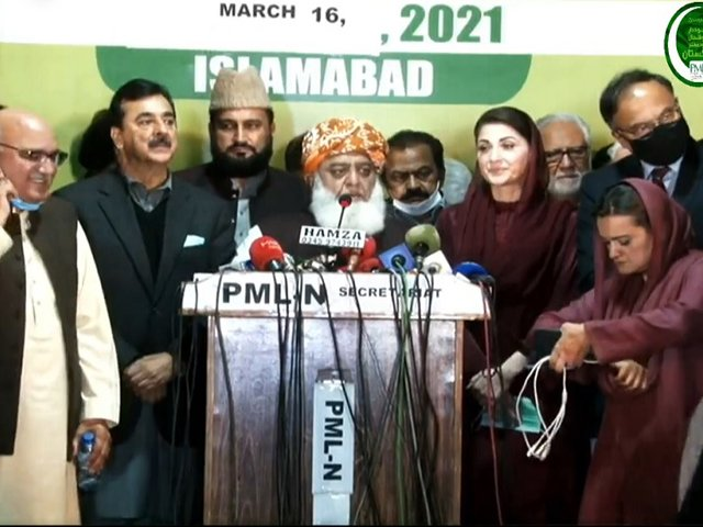 Fazl Urges PPP And ANP to Rejoin PDM