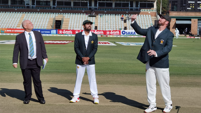 First Test Zimbabwe win toss opt to bat first against Pakistan