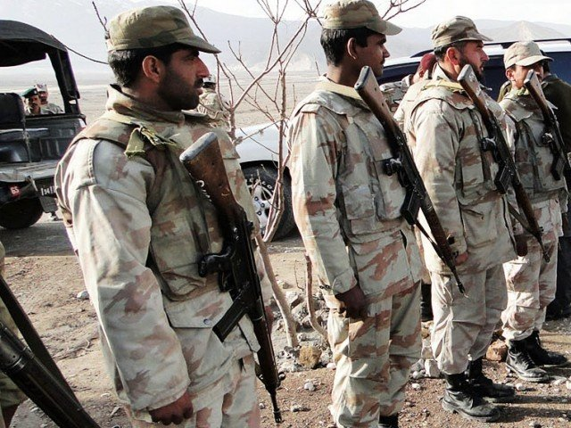 Four FC troopers martyred in Zhob terrorist attack