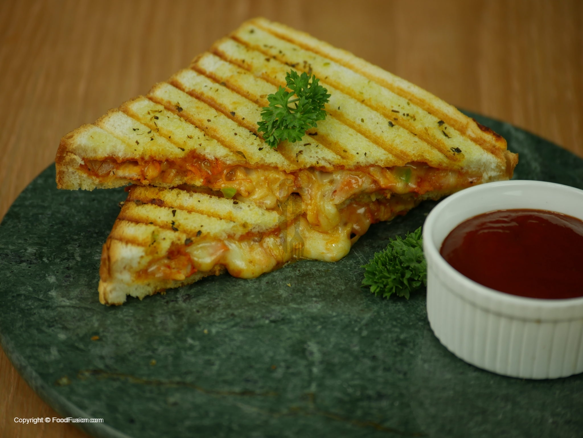 Grilled Pizza Sandwich