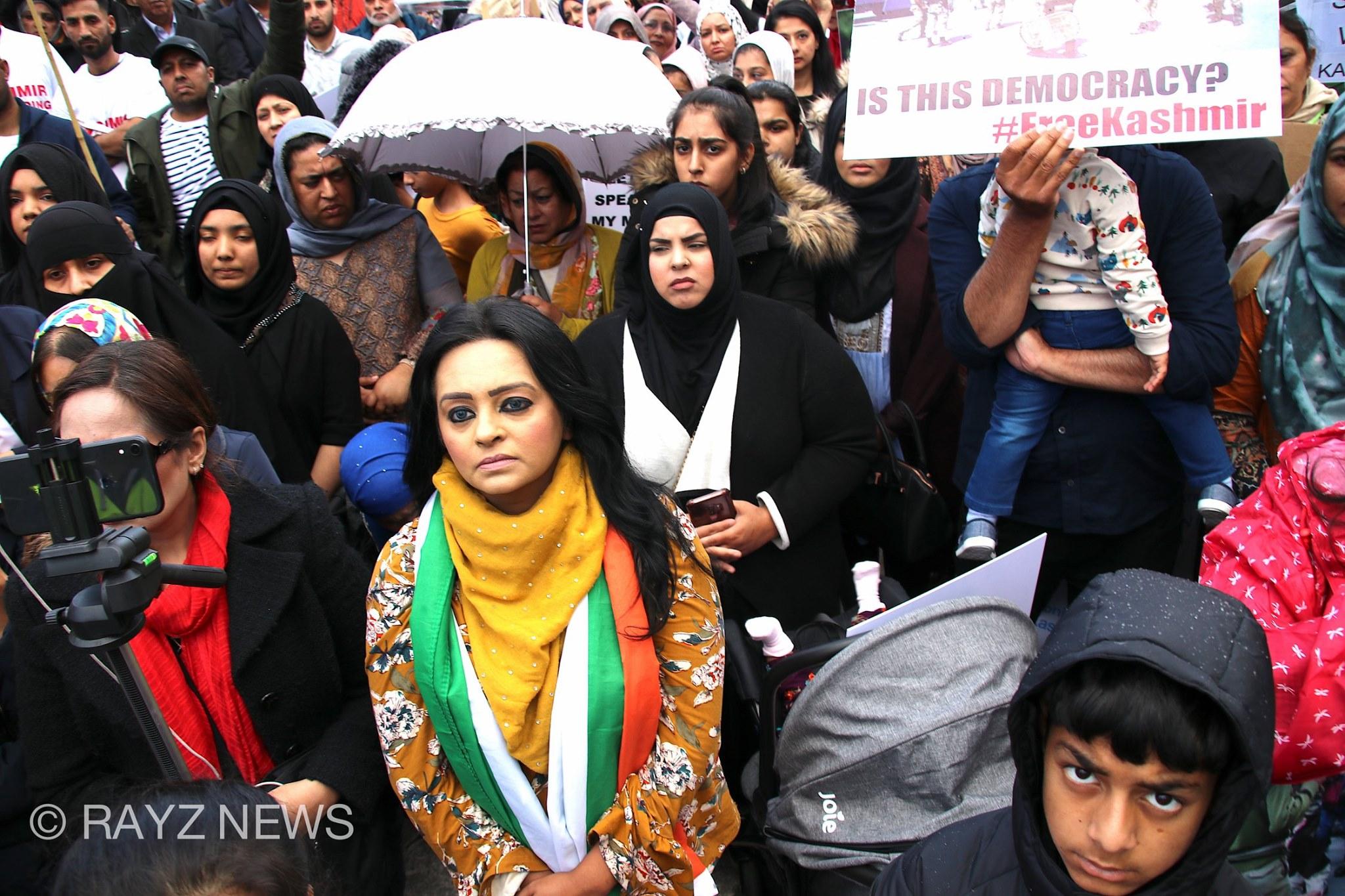 Kashmir Protest in Manchester
