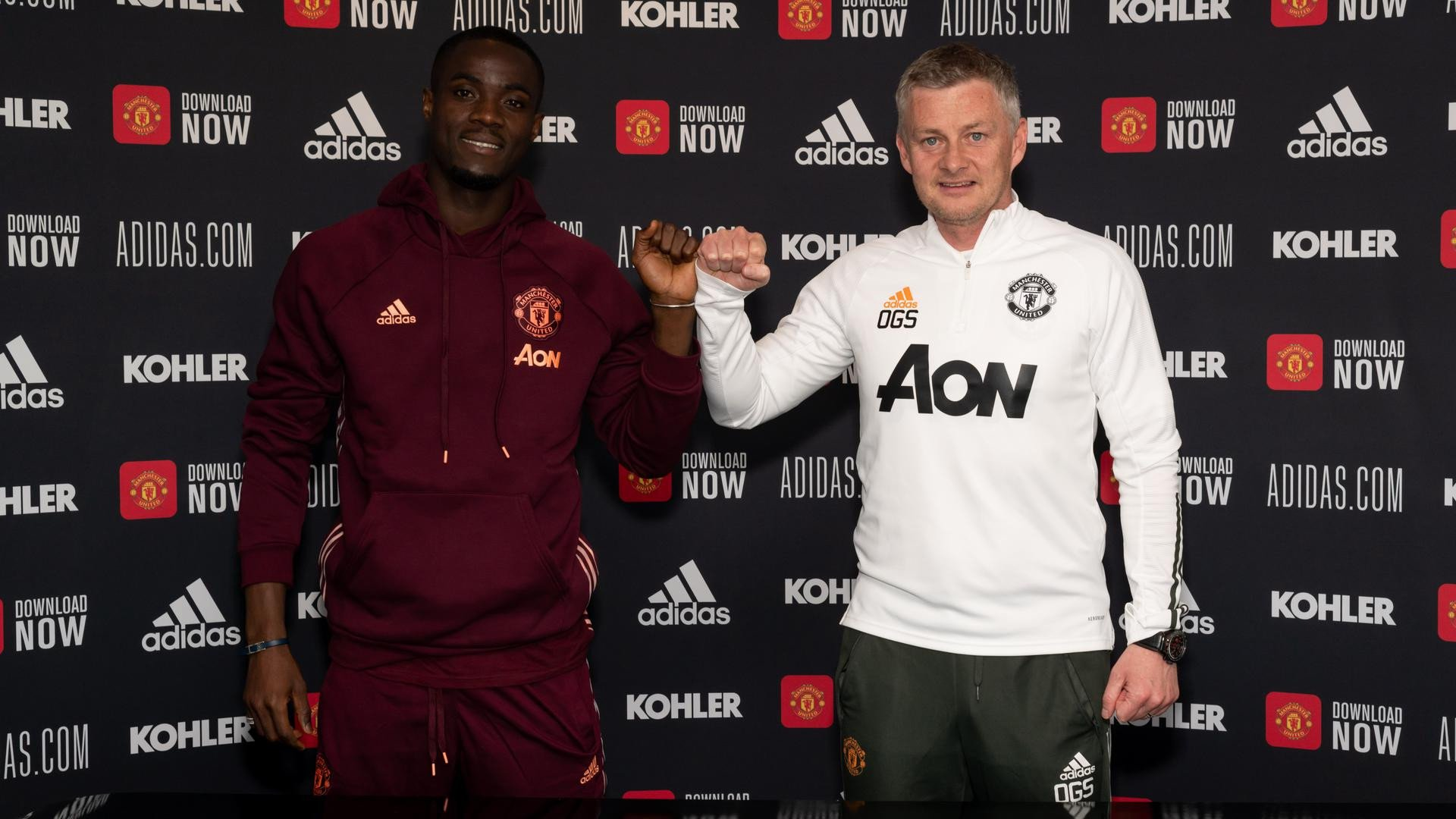 Man UTD Bailly Signs New Three Year Contract
