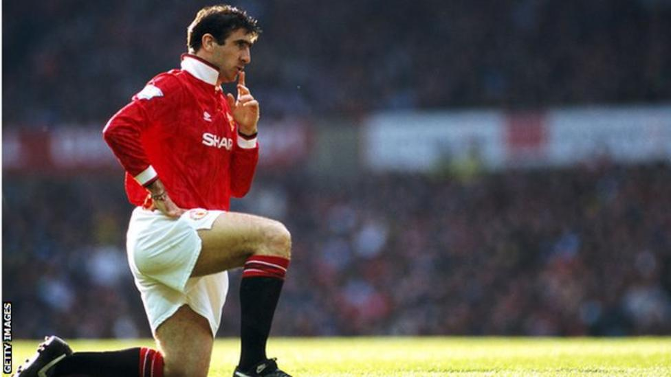 Manchester Uniteds Eric Cantona & Roy Keane in Premier League Hall of Fame