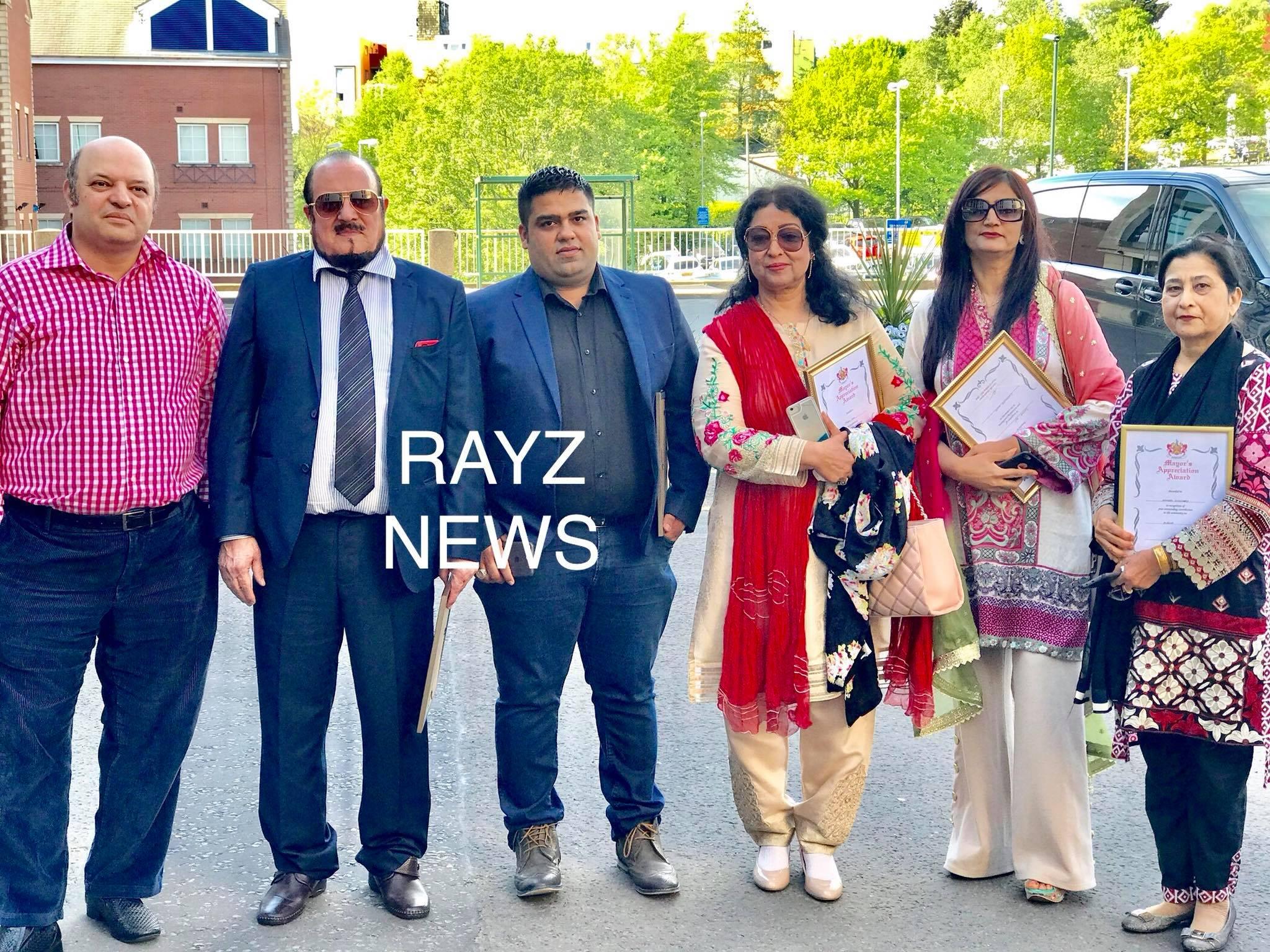 Mayor of Oldham Shadab Qamar invited