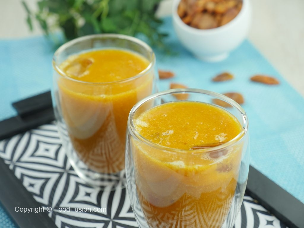 Mulberry and Apricot Shake