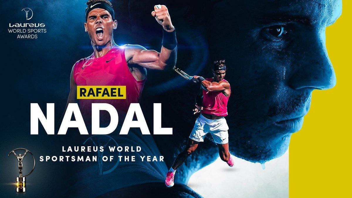 Nadal, Osaka win top Laureus sports awards