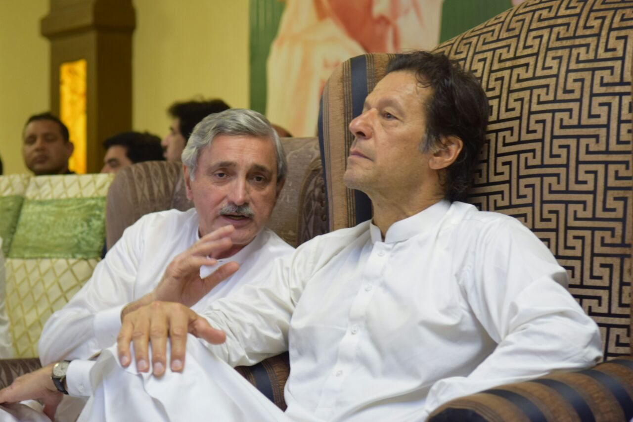 PTI leaders express solidarity with PM following 'Tareen group' formation