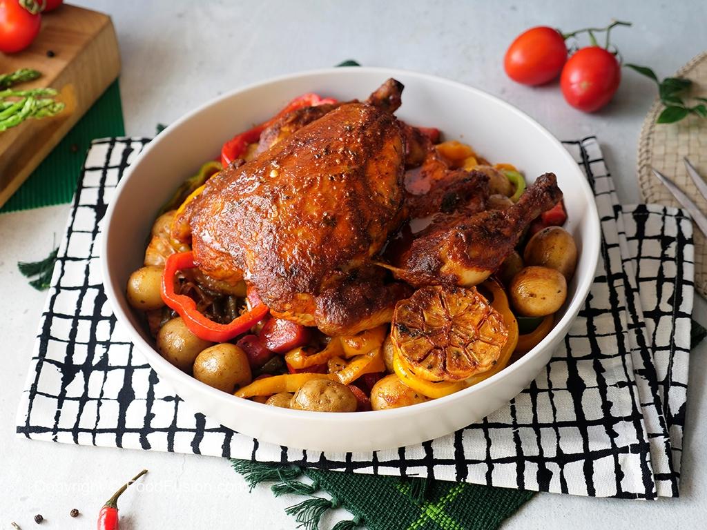 Peri Peri Whole Chicken