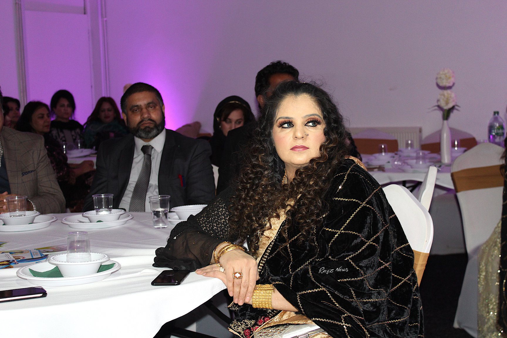 Qawali night was organised by well known community and public figures Sajjad Mirza