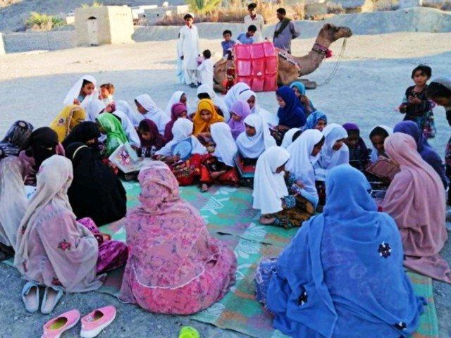 Roshan the Camel Brings Books to Homeschooling Children in Rural Pakistan