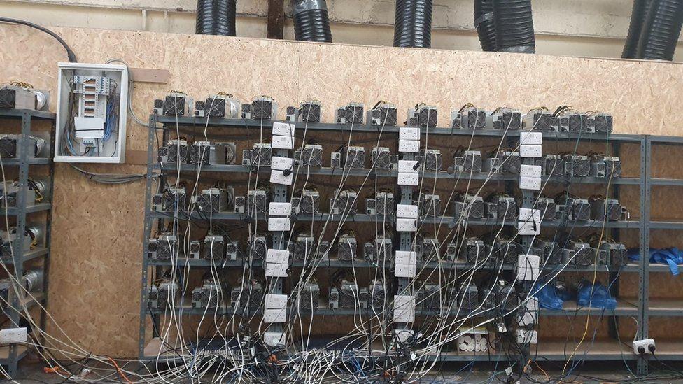 Sandwell Bitcoin mine found stealing electricity