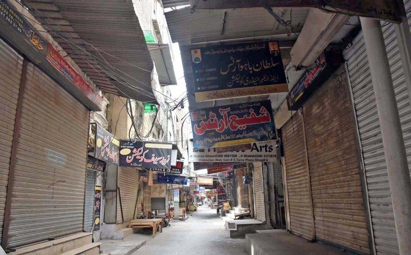 Smart lockdown imposed in Lahore Karachi neighbourhoods