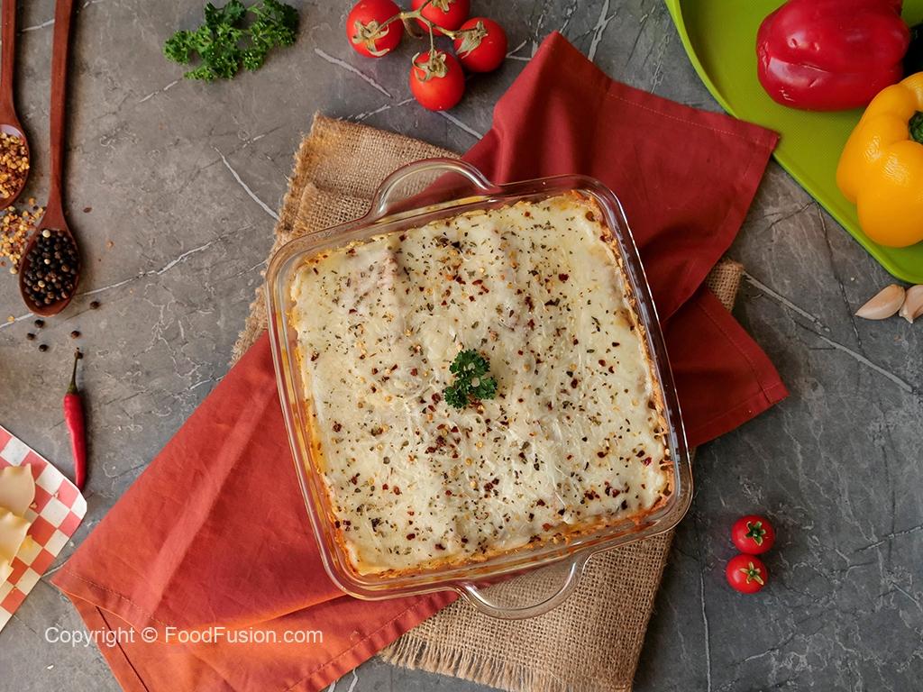 Smoky Chicken Lasagna