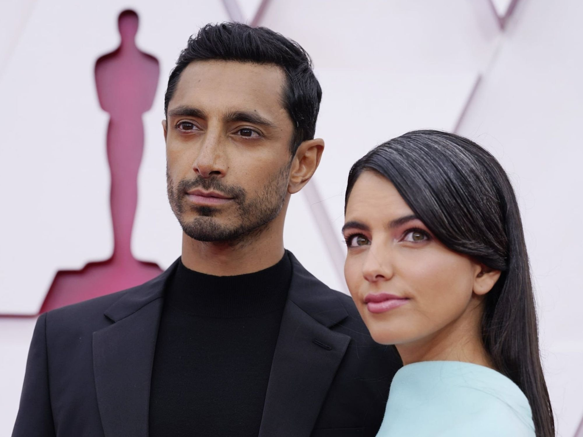 Talk of the Town Riz Ahmed fixing wife hair at the Oscars Video goes viral