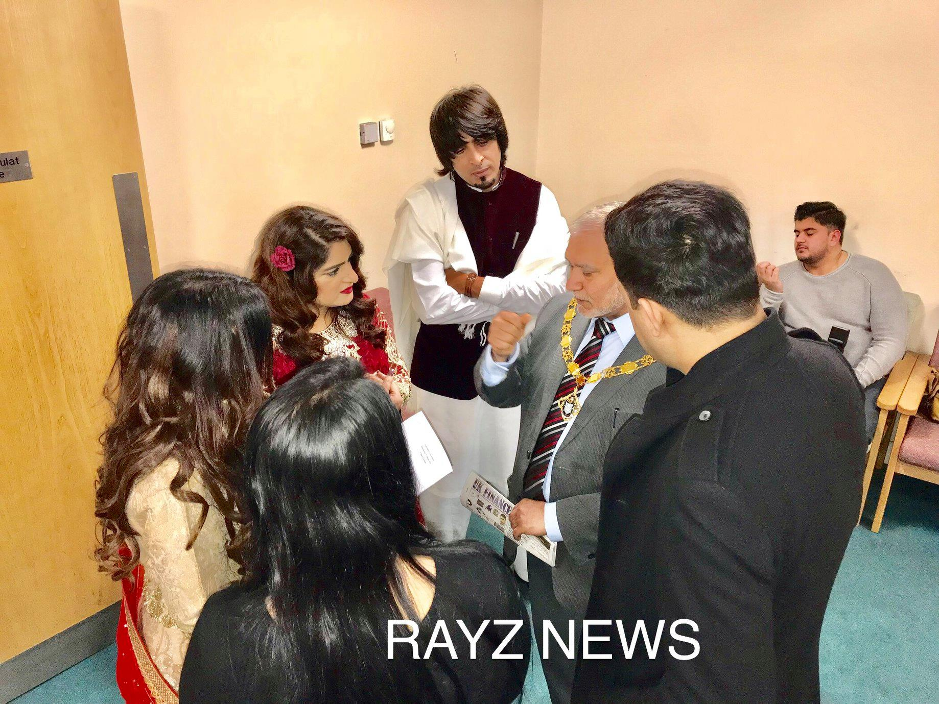 The official DVD launch ceremony of 11 British independent movies made by Zafar Iqbal